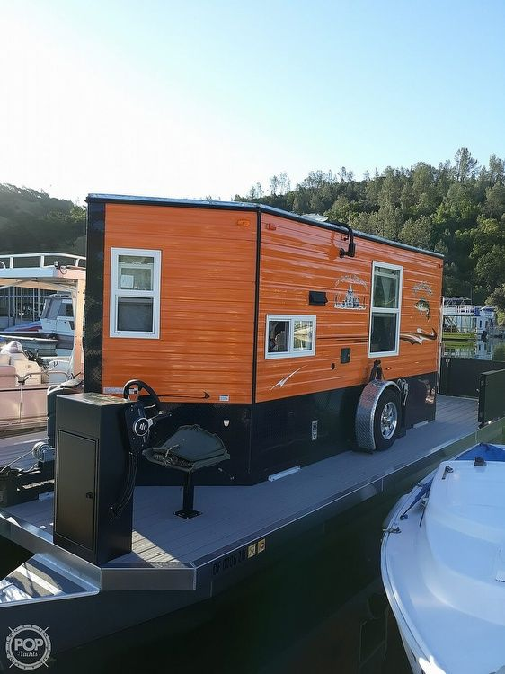 Used Fs Houseboats Custom Houseboat Pontoon Boat For Sale