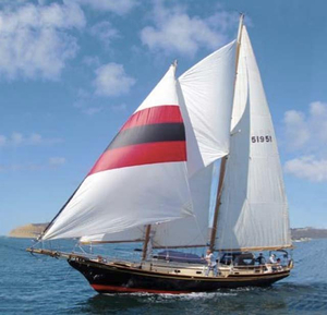 Used Herreshoff Mobjack Staysail Schooner 45 Schooner Sailboat For Sale