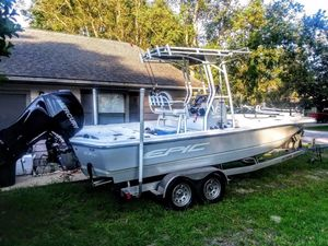 Used Epic 23 Sport Console Center Console Fishing Boat For Sale