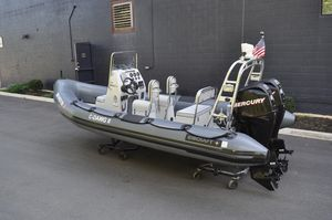 Used Ribcraft 5.85 Rigid Sports Inflatable Boat For Sale