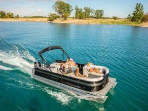 Used Crest II 240 SLSII 240 SLS Pontoon Boat For Sale