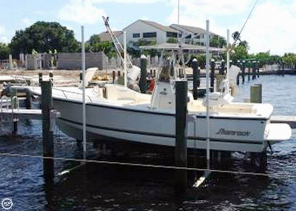 Used Shamrock 220 Center Console Fishing Boat For Sale