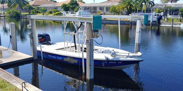 Used Action Craft 19 Flatsmaster Center Console Fishing Boat For Sale