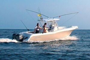 Used Polar 2700 Center Console Freshwater Fishing Boat For Sale