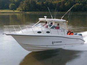 Used Seaswirl Striper 2901 Walkaround O/B Saltwater Fishing Boat For Sale