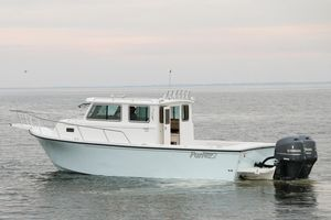 Used Parker 2530 Extended Cabin Center Console Fishing Boat For Sale