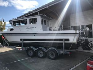 Used Davis Long Cabin Rock Harbor Sports Fishing Boat For Sale