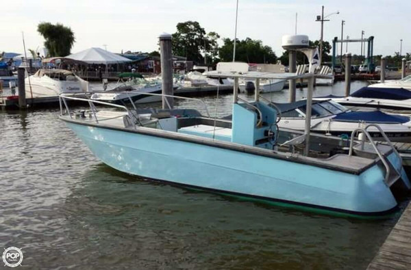 Used Sea Ray Custom 24 Center Console Fishing Boat For Sale