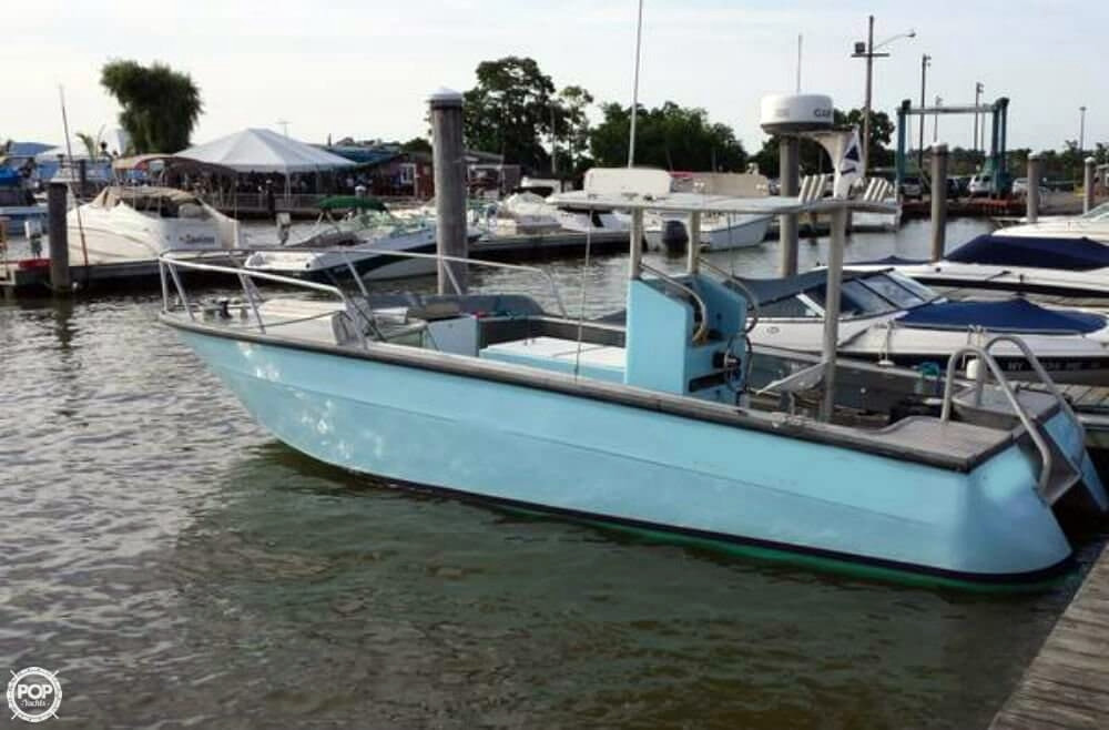 1973 used sea ray custom 24 center console fishing boat for Fishing boat dealers near me