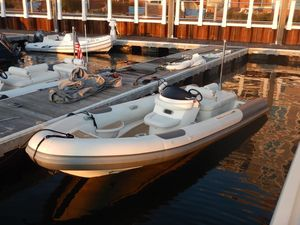 Used Pascoe 6.2 Meter Luxury Diesel Tender Center Console Fishing Boat For Sale