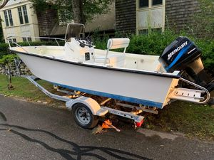 Used Key Largo 1800 Center Console Fishing Boat For Sale