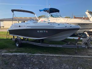 Used Hurricane 188 Sun Deck Bowrider Boat For Sale
