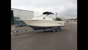 Used Sportcraft 231 Walkaround Freshwater Fishing Boat For Sale