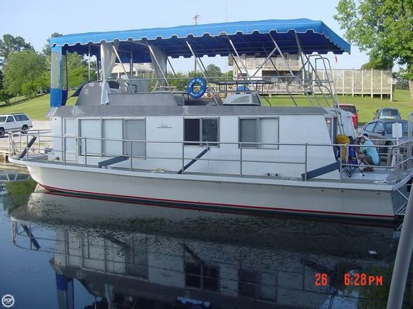 Used Tucker Marine 42 House Boat For Sale