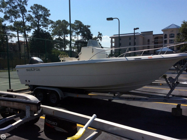 Used Sea Fox 237 Center Console Fishing Boat For Sale
