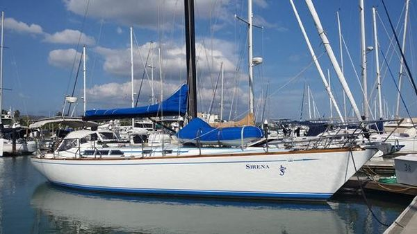 Used Warwick Cardinal 46 Racer and Cruiser Sailboat For Sale