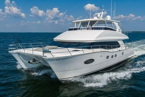 Used Horizon PC60 Power Catamaran Boat For Sale