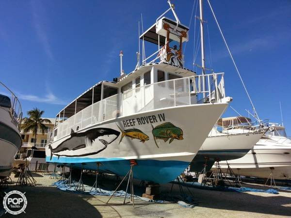 Used Gulf Craft 53 Commercial Boat For Sale