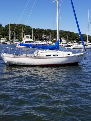 Used Cape Dory 25 Daysailer Sailboat For Sale