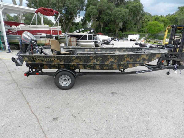 New Ranger 1652H MPV Aluminum Fishing Boat For Sale