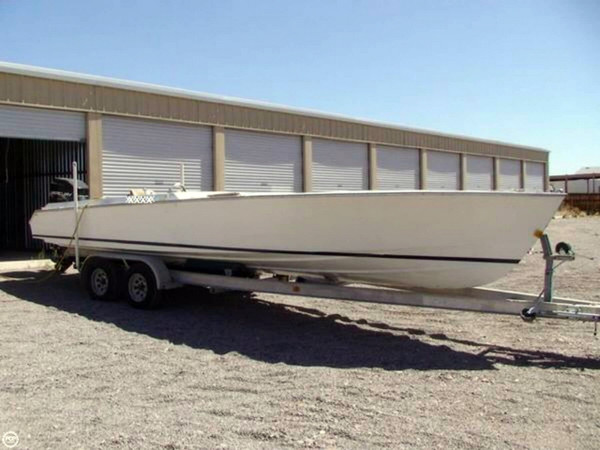 Used Packard Heritage Split Cockpit High Performance Boat For Sale
