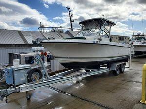Used Shamrock 246 Walkaround Cuddy Cabin Boat For Sale