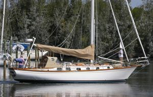 Used Shannon 38 Cutter Cruiser Sailboat For Sale