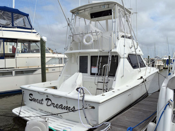 Used Hatteras 39 Sport Fish Sports Fishing Boat For Sale
