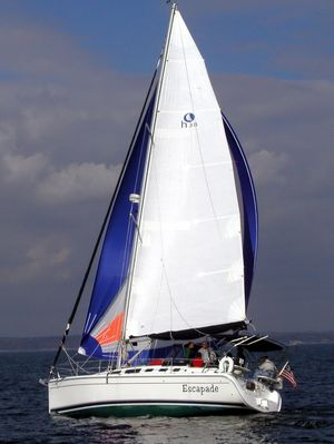 Used Hunter 38 Cruiser Sailboat For Sale