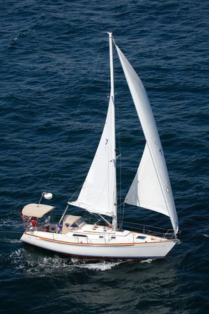 Used Holby Clearwater 35 Daysailer Sailboat For Sale