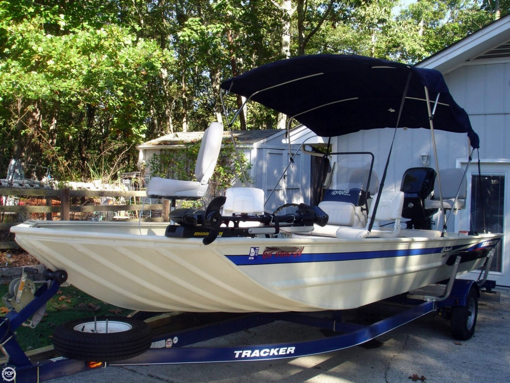 2013 Used Tracker Grizzly 2072 Bass Boat For Sale