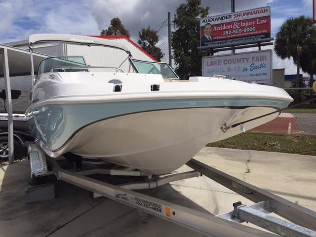 2016 new hurricane sundeck 187 ob deck boat for sale for Hurricane sundeck for sale