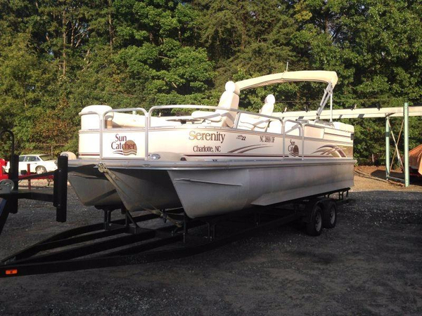Used G3 Sun Catcher LX3 22 DLX Pontoon Boat For Sale
