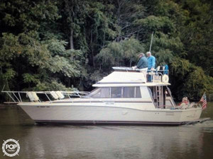 Used Trojan F32 Sports Fishing Boat For Sale