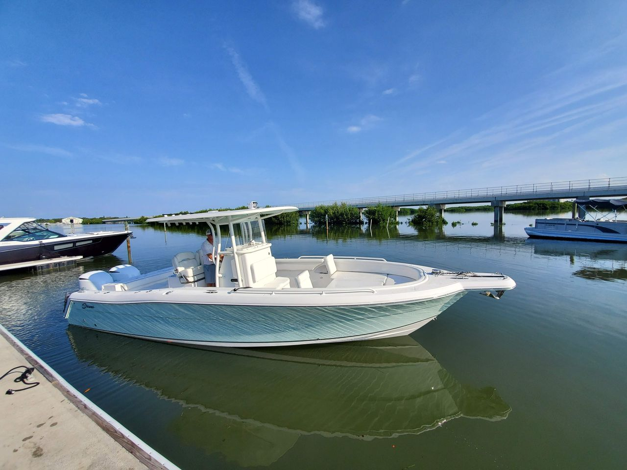 2018 Used Stamas 317 Tarpon Center Console Fishing Boat For