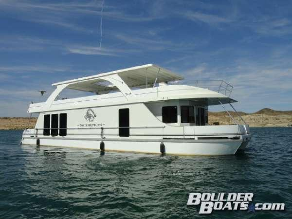 Used Desert Shore Yachts 70' X 18' Houseboat House Boat For Sale