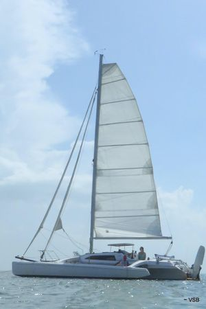 Used Corsair F-28cc #404 Trimaran Sailboat For Sale