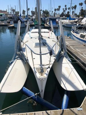 Used Corsair F-24 MKII Trimaran Sailboat For Sale