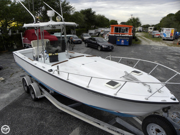 Used Rampone 25 Sport Fisherman Center Console Fishing Boat For Sale