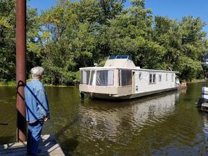Used Stardust Cruisers Live Aboard Houseboat House Boat For Sale