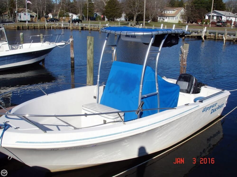1996 used pro line 200 stalker center console fishing boat for Center console fishing boats for sale