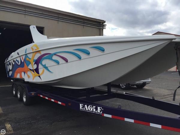 Used Baja Predator 31 Power Catamaran Boat For Sale