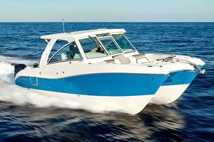 New World Cat 320 DC Power Catamaran Boat For Sale