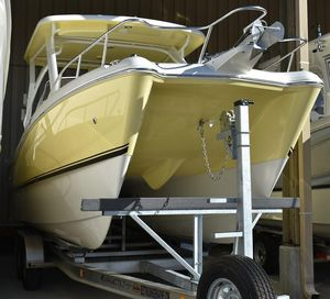 New World Cat 255 DC Power Catamaran Boat For Sale
