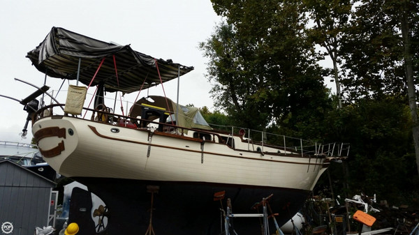 Used Island Trader 40 Ketch Sailboat For Sale