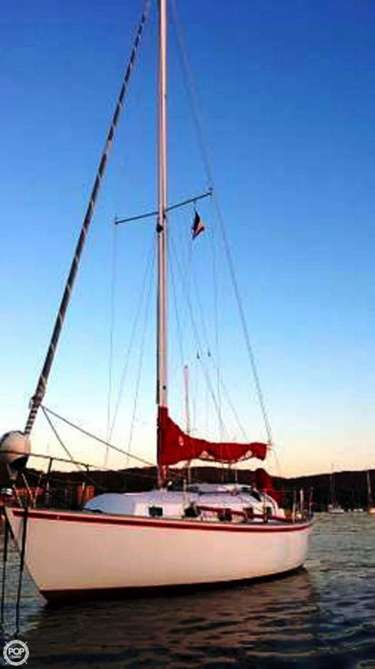 Used Bristol Boats 30 Racer and Cruiser Sailboat For Sale