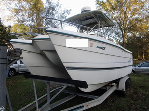 Used Pro Sports 22 Pro Kat Power Catamaran Boat For Sale