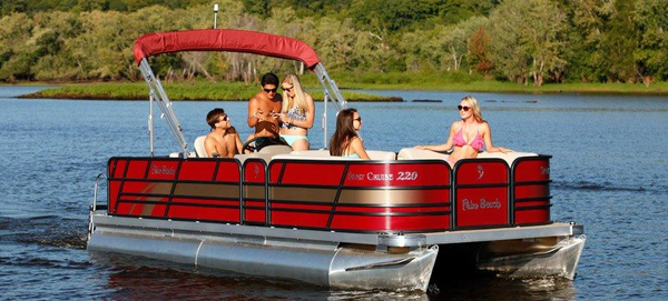 New Palm Beach 200 Cruise Pontoon Boat For Sale