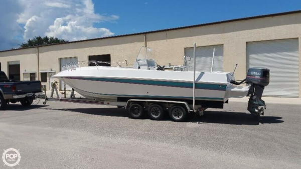 Used Fountain Tournament Edition 29 CC Center Console Fishing Boat For Sale