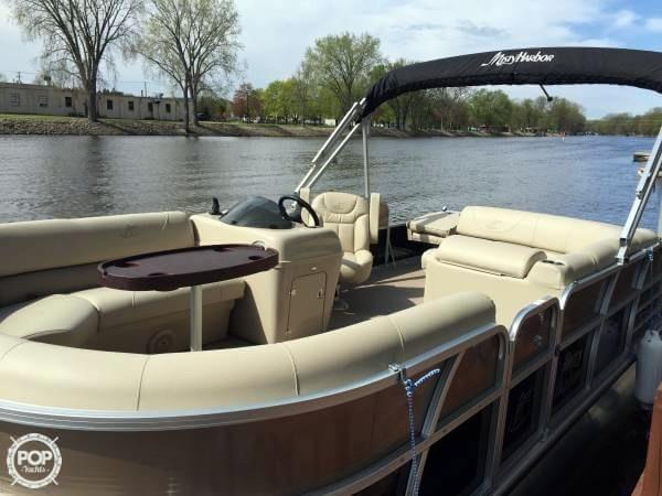 Used Misty Harbor 2085RF Pontoon Boat For Sale